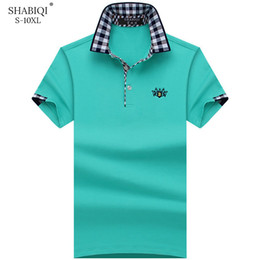 $enCountryForm.capitalKeyWord Australia - Shabiqi Plus Size S-10xl Brand New Men's Polo Shirt Men Cotton Short Sleeve Shirt Brands Embroidery Lion Mens Shirts Polo Shirts Q190426
