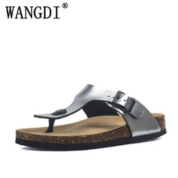 $enCountryForm.capitalKeyWord NZ - black silver glitter cork Slippers 2019 Men summer sequined beach slipper flip flops sandals shoes flat with plus size 35-45
