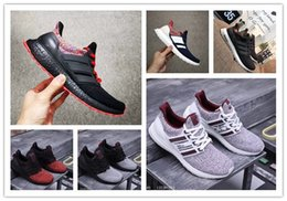 army green color canvas shoes 2019 - Ultra Boost 4.0 Casual Shoes Show Your Stripes Breast Cancer Awareness CNY Black Multi Color Men Womens Real Boost Sneak