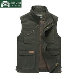 $enCountryForm.capitalKeyWord Australia - 2019 Summer Outwear Vest Men Multi Pocket Sleeveless Jacket Male Mens Photography Waistcoat Mesh Men Vest chaleco hombre M-4XL
