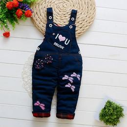 $enCountryForm.capitalKeyWord Canada - good quality Kids Winter Overalls Baby Rompers Newborn Warm Thick Denim Jumpsuits Toddler Children Clothing Boys Girls Bib Pants