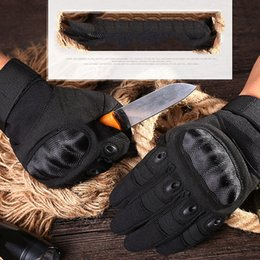 Paintball tactical gear online shopping - Army Gear Tactical Gloves Men Swat Combat Gloves Carbon Shell Anti skid Airsoft Paintball Gloves protection antiskid Ski north glove gants