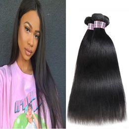 water wave hair length 2019 - Indian Body Wave Human Hair Bundles 3 4 5pcs Peruvian Straight Human Hair Extensions Water Wave Loose Deep Wave Virgin H