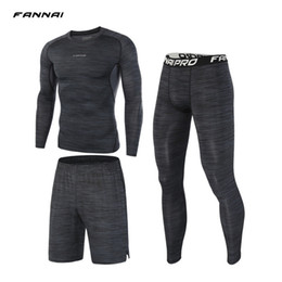 $enCountryForm.capitalKeyWord Australia - Fannai Compression Mens Sport Suits Workout Running Sets Clothing Sports Joggers Training Gym Fitness Tracksuits Running Set T2190615