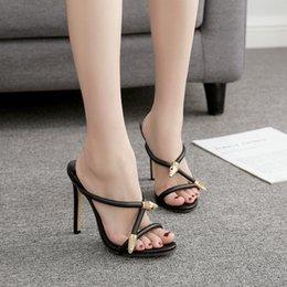 $enCountryForm.capitalKeyWord Australia - Pretty2019 Metal Fund Decoration Cool Slipper Fine With Shoe A8 - 18