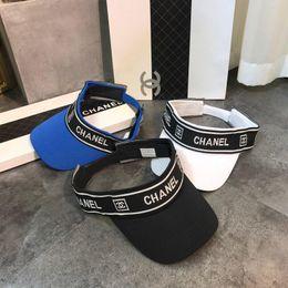 Ingrosso Luxury Design berretto da sole moda classico Visiera cappello 2019 estate marca Designer outdoor parasole cappello uomo e donna cappelli ET877