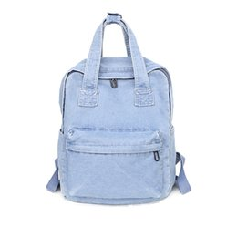 fabric school bags UK - Fashion Women Backpack For School Teenagers Girls Vintage Stylish School Bag Ladies Fabric Backpack Female Bookbag Mochila Y190627