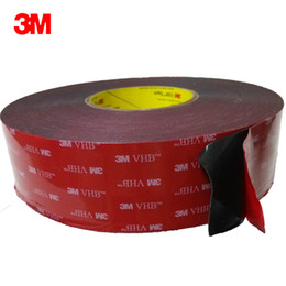 3m double sided foam tape online shopping - 3M VHB double sided acrylic foam tape is used for the bonding of household and automobile decorations and electronic productsVHB doubl