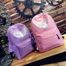 New Arrival Exo Laser Backpack Korean Canvas Backpack Teenage Girls Fashion Exo Bags Harajuku Backpack Rucksacks For School Men's Bags Backpacks