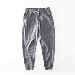 China Mens Knit Slacks Drawstring Solid Loose Type New Spring Fashion Binding Off Fitness Comfortable Casual Style Urban Wind Trousers supplier new types pants suppliers