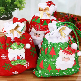 christmas gift candles Australia - Happy New Year Merry Christmas Gift Bag Candy Bag Merry Christmas Candy Bags Xmas Decorat 2019 Navidad Decoration