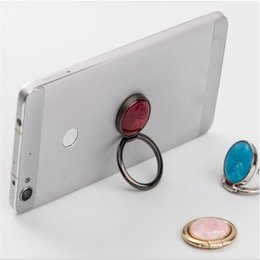 Black ring pink diamonds online shopping - crystal diamond Phone Stand pop socket ring Degree Glitter Grip Cell Phone Holder for Tablets For iPhone Universal with package