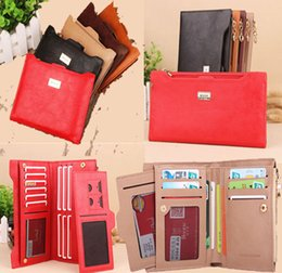 Cheap Lady Handbag Wholesale Australia - Hot Sale PU Leather Women Wallet 5 Colors Zipper Multifunction Long and short Wallets Ladies Clutch Handbag Cheap Coin Purse Card Holder