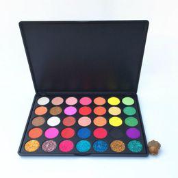 $enCountryForm.capitalKeyWord NZ - New arrival High Pigment Makeup 35 Color Glitter eyeshadow Palette Pressed Powder Matte Shimmer Eyeshadow Palette Eye Shadow Makeup Palettes