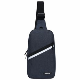 Single Shoulder Strap Packs Australia - Crossbody Bags for Men Messenger Chest Bag Pack Casual Bag small Nylon Single Shoulder Strap Pack for women wholesale male black