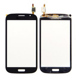touch screen samsung galaxy grand neo NZ - OEM Touch Screen Digitizer Front Glass panel Replacement Parts For Samsung Galaxy Grand Neo Plus i9060i i9060 i9062