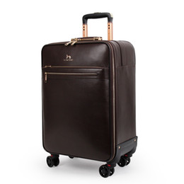 Discount spinner suitcases 3suitcase carry onTravel Bag Carry-OnV purse suitcase luxury trunk bag spinner universal wheel mono gram duffel trolley case hot4957#