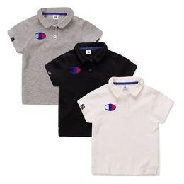 157c4242383 Korean Kids shirts online shopping - Kids wear champion edition boys POLO  shirt pure cotton short