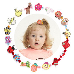 $enCountryForm.capitalKeyWord Australia - Baby BB clips cute cartoon kids barrettes designer girls hair clips embroidery butterfly girls hairclips hair accessories for girls A5879
