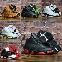 $enCountryForm.capitalKeyWord NZ - Bred XI 13S Kids Basketball Shoes Gym Red Infant & Children toddler Gamma Blue Concord 13 trainers boy girl tn sneakers Space Jam