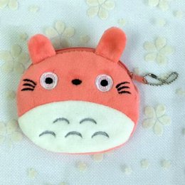 chicken car UK - 4 Colors Totoro Plush Doll Stuffed Toys Gift key chain plush bag doll toys