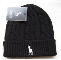WindoW toppings online shopping - Embroidery Designers Skull Caps Equestrian Woolen Knitted Cap Fashion Men Women Portable Spring Autumn Beanie Window Shopping polo glof Ccww