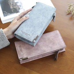 $enCountryForm.capitalKeyWord Australia - Vintage Money Bag Big Wallet Women Leather 2018 Purse Women Zipper Phone Wallet Ladies Long Clutch Bag Card Holder Wristlet Bag Y19052302