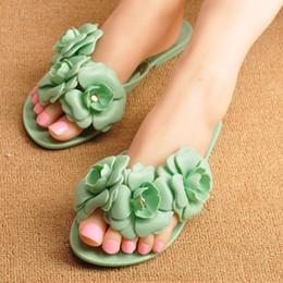 $enCountryForm.capitalKeyWord Australia - Cheap Summer Women's Slippers Flower Fashion Flip Flops for Ladies Outdoors Female Rubber Fashion Slippers Beach Shoes IF954