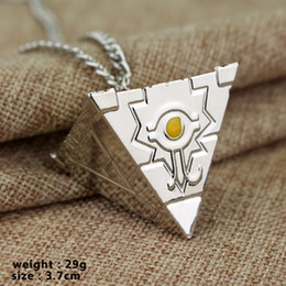 $enCountryForm.capitalKeyWord Australia - Game King Millennium Building Blocks Millennium Artifact Metal Pendant Men's and Women's Necklaces