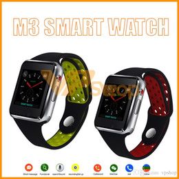 $enCountryForm.capitalKeyWord NZ - M3 Smart Watch Touch Screen Android Smartwatches Fitness Tracker 1.54 inch LCD SIM Mobile Phone Smart Wristwatch with Retail Package
