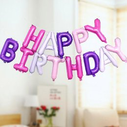 "$enCountryForm.capitalKeyWord Australia - 16 inch ""Happy Birthday"" Alphabet suit Decorations for birthday party Various colors are available"