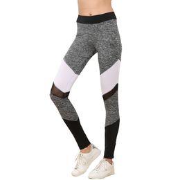 831d41998b85 Mesh Workout Leggings Australia - Sexy Mesh Leggings Women Patchwork Workout  Sportswear Leggings Skinny Fitness Clothing