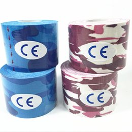 $enCountryForm.capitalKeyWord Australia - 5M*2.5CM Kinesiology Tape Athletic Muscle Support Sport Physio Therapeutic Tape Elastic Sports Bandage Muscle 1PC