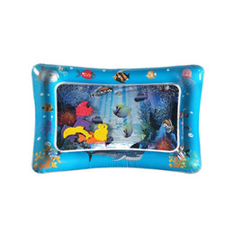 $enCountryForm.capitalKeyWord UK - Creative Inflatable Baby Water Mat Dual Use Toys For Baby Cushion Water Pad For Sensory Stimulation Motor Skills