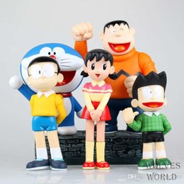 $enCountryForm.capitalKeyWord UK - 17-22cm big size 5pcs set Doraemon Anime Action Figure Collection toys for christmas gift Free shipping