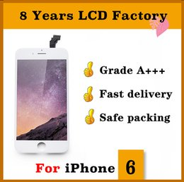 Iphone Screen Testing NZ - For iphone 6 lcd Grade A +++ Display Touch Digitizer Complete Screen Tianma High Definition Passed Sunglass Test