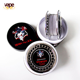 $enCountryForm.capitalKeyWord Australia - Newest Demon Killer Alien DIY Wire Atomizer Coil tiger quad alien fused clapton Hive flat mix twisted wire VAPE DIY RDA RTA Heating wires