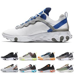 $enCountryForm.capitalKeyWord Australia - Classic Element 87 Mens Running Shoes for Women Taped Seams Royal Tint Sail Anthracite Desert Sand Solar Red Sports Sneaker Size 36-45