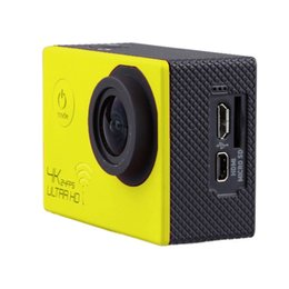 Professional Dv Camera Australia - 4K Extreme Definition Action Camera Waterproof DV 60fps Yellow