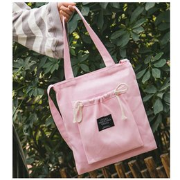 Discount ladies cloth handbags - Women Corduroy Canvas Tote Ladies Casual Shoulder Bag Foldable Shopping Bags Beach Bag Cotton Cloth Female Handbag