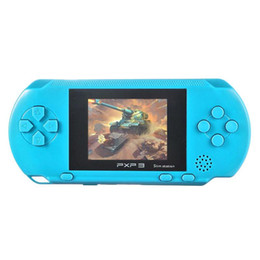 built game console UK - PXP3 Handheld Game Console 16 Bit Retro Children Kids MD2700 Video Game Palyer Built-in 150 Games 2.6 inch Screen With Retail Box