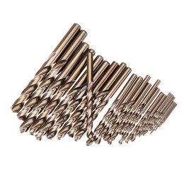 $enCountryForm.capitalKeyWord Australia - 25Pcs 1-13Mm Hss M35 Cobalt Twist Drill Bit Set For Metal Wood Drilling