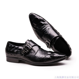 $enCountryForm.capitalKeyWord Australia - Grain Products Competitive Man Hasp Correct Dress Work Clothes Embossing Crocodile Enchanting2019 Really Leather Shoes
