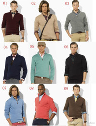 Men V Neck Polo Fashion Australia - best selling 2018 new arrival cardigan v neck polo sweater, men cotton casual coat, fashion brand knitted sweater half zipper jumper