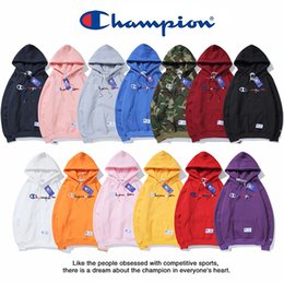 Wholesale The New champions mens hoodie fashion new designer luxury Embroidery hoodies classic trend pullover womens comfortable hooded sweater Spot