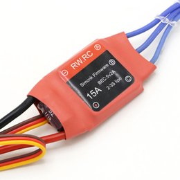 speed controller esc for brushless UK - 4pcs Simonk Firmware Brushless ESC 10A 12A 15A  20A  30A  40A  50A  70A  80A for RC Multicopter Helicopter