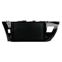 Discount toyota car gps navigation corolla - 8 Core 64GB rom Android 9.0 Navirider Car radio touch screen GPS Navigation for TOYOTA COROLLA 2014-2015 bluetooth video