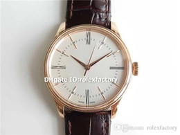 18k Luxury Watches Swiss Australia - MKF New Luxury 50505 Watch Swiss 3132 Automatic 28800bph Sapphire Crystal 18K Rose Gold White Dial Mens Watch Water Resistance 50m