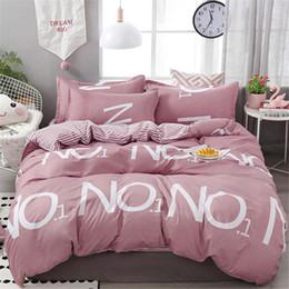 queen size bedding for girls 2020 - Wholesale Bedding Set Luxury 4pcs Gift for Kids Girls Duvet Cover Set for Home Textile King Twin Queen Size Bedding Cove