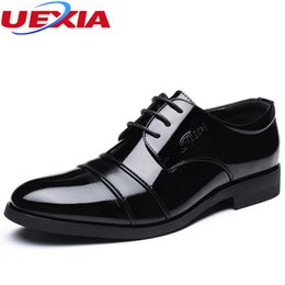 Men Shoes Australia - Business Classic Office Leather Elegant Formal Dress Men Shoes Oxfords Wedding Mens Casual High Quality Pointed Toe Flats Black